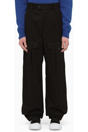 Alexander McQueen Baggy military trousers