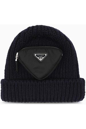 Prada Cap with applied pocket