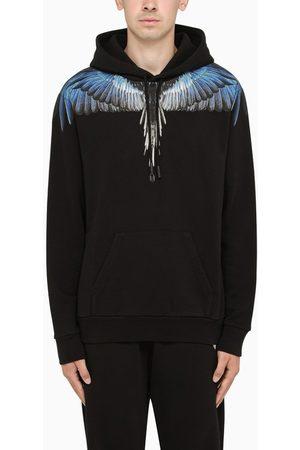 MARCELO BURLON Blue Wings-print hoodie