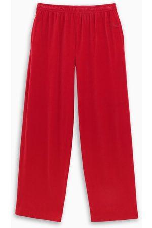 Balenciaga Velvet track pants
