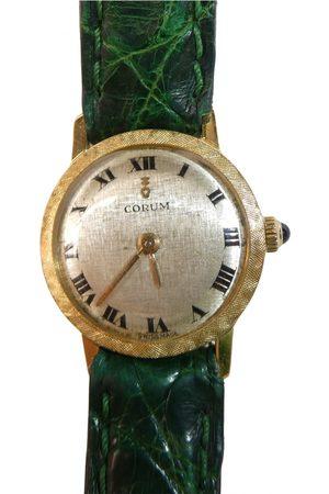 Corum Yellow gold watch