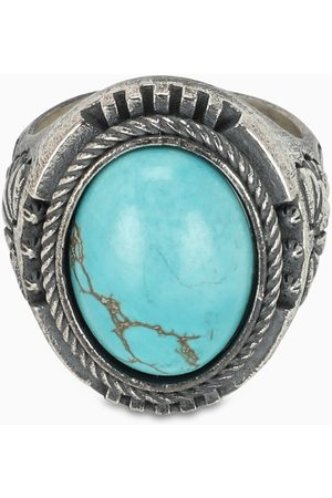 NOVE25 Men Rings - Lotus Aulite chevalier ring
