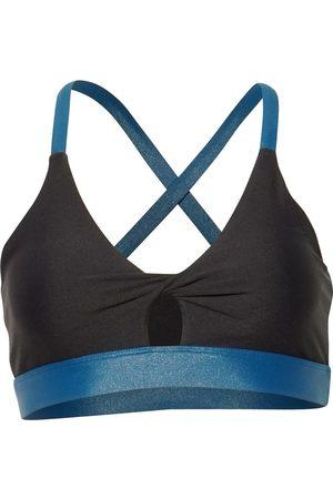 Women's Black Fabric Aurora Sports Bra XL LEON NORD