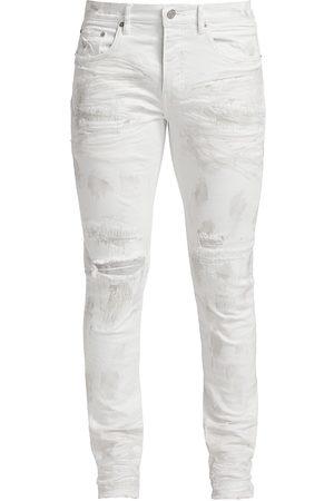 Purple Brand Men Skinny - P001 Distressed Skinny Jeans