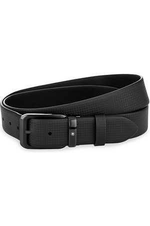Montblanc Reversible Leather Pin Buckle Belt