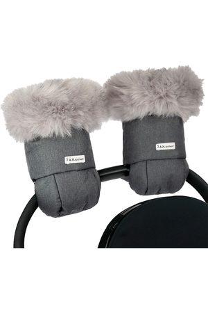 7AM Gloves - Warmmuffs Plush Tundra Attachable Stroller Gloves