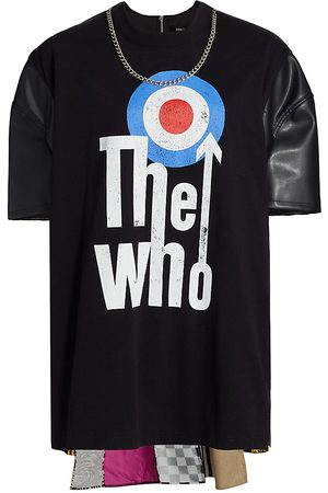 JUNYA WATANABE Women T-shirts - The Who Chain Band T-Shirt