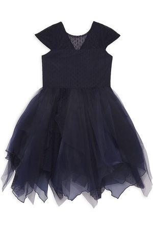 Zoe LTD Girls Parkas - Girl's Parka Organza Dress