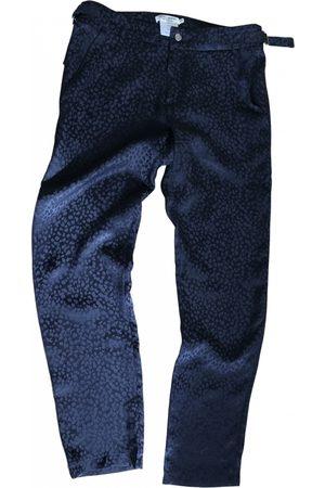 ROSEANNA Women Straight Leg Pants - Silk straight pants