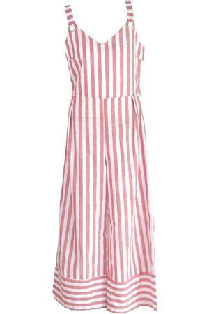 Women's Artisanal White Stanley Dress Jumpsuit 4XL SOHUMAN