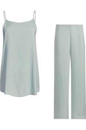Women Sweats - Women's White Kit - Cami & Pants Medium SoL