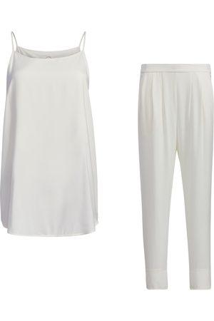 Women Sweats - Women's White Kit - Cami & Loungers Medium SoL