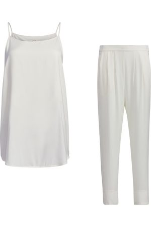 Women Sweats - Women's White Kit - Cami & Loungers Small SoL