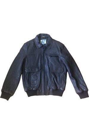 Serge Blanco Men Gilets - Leather vest