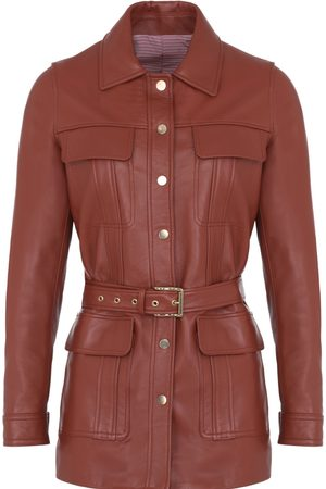 Women Leather Jackets - Women's Artisanal Leather Camelia Jacket Small Koshka Paris