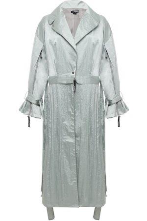 Women Trench Coats - Women's Mint Wind Trench MONOSUIT