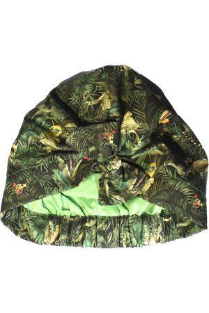 Women's Artisanal Green Silk Verdant V-Neck Jacquard Wrap Maxi Dress With Side Slit Small Sarvin
