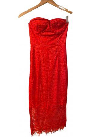 Missguided Women Midi Dresses - Lace mid-length dress