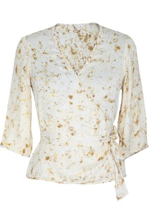Women's Artisanal Fabric Drizzle Rain Coat Large ShotOf