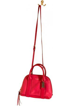 Coach Cartable mini sierra leather handbag