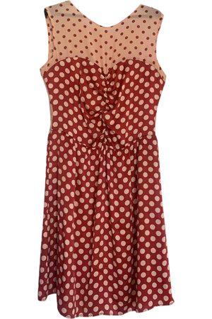 Dolores Promesas Silk mini dress
