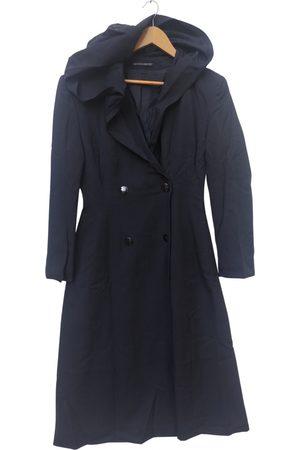 YOHJI YAMAMOTO Wool trench coat