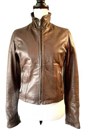 Jean Paul Gaultier Women Leather Jackets - Leather biker jacket