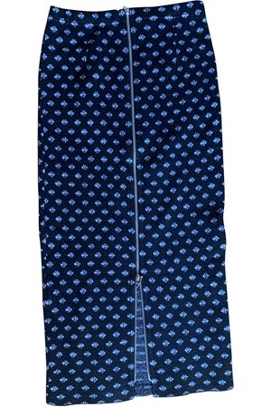 CIRCUS HOTEL Wool mid-length skirt