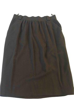 JEAN LOUIS SCHERRER Women Midi Skirts - Wool mid-length skirt