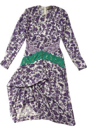THORNTON BREGAZZI Silk mid-length dress