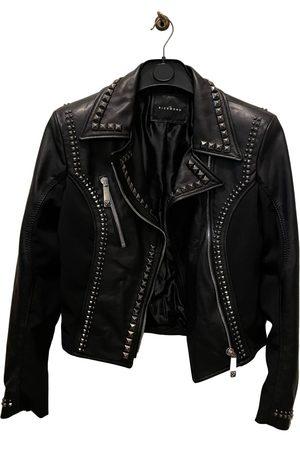John Richmond Women Leather Jackets - Leather biker jacket