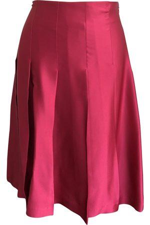 Toast Silk mid-length skirt