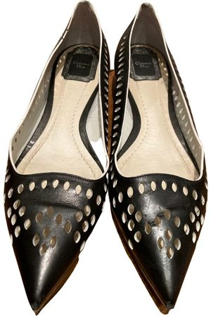 Dior Leather ballet flats