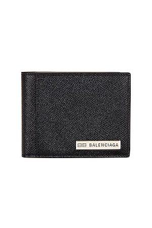 Balenciaga Plate Bifold Card Holder in
