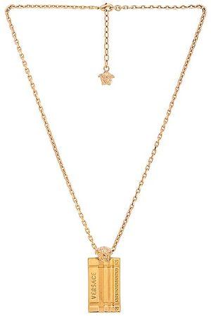 VERSACE Necklace in Metallic