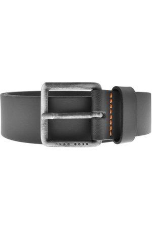HUGO BOSS Men Belts - BOSS Leather Jeeko Belt