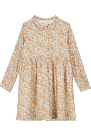 BONPOINT Baby Printed Dresses - Long-sleeved floral dress
