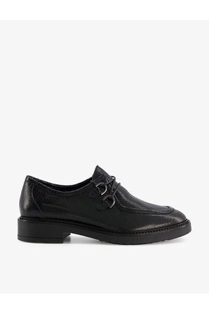 Dune Women Loafers - Flints chunky-sole lace-up leather shoes