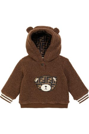 Fendi Hoodies - Baby wool-blend hoodie
