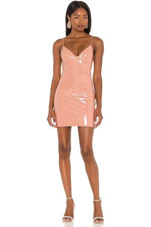 Amanda Uprichard Helaine Dress in Blush.