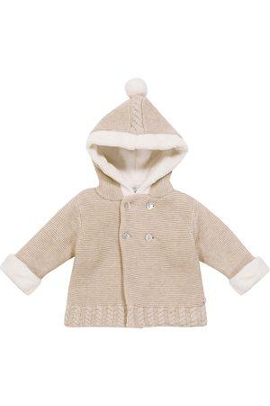 Tartine Et Chocolat Baby knitted wool pram coat