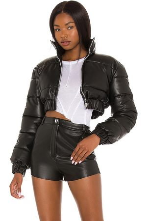 h:ours Women Puffer Jackets - Blaine Cropped Puffer Jacket in .