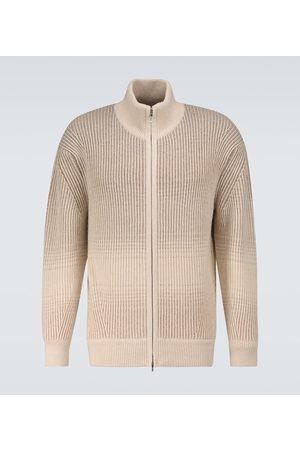 Loro Piana Fade cashmere-blend cardigan