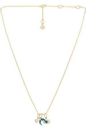 Kendra Scott Gemma Charm Necklace Set in Metallic .