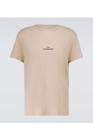 Maison Margiela Men Short Sleeve - Cotton short-sleeved T-shirt