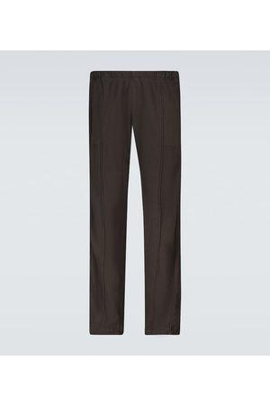 Les Tien Men Sweatpants - Paneled cotton sweatpants