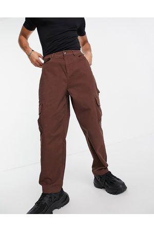 ASOS Men Cargo Pants - Cargo wide leg pants in