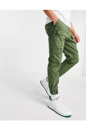 ASOS Men Chinos - Tapered pants with multi pockets in khaki