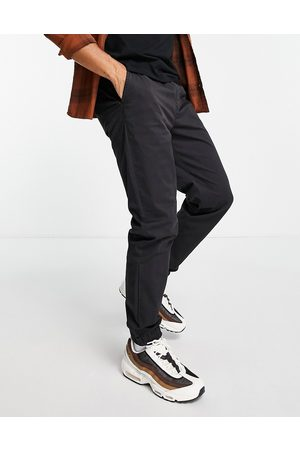 River Island Men Chinos - Cuffed chinos in washed