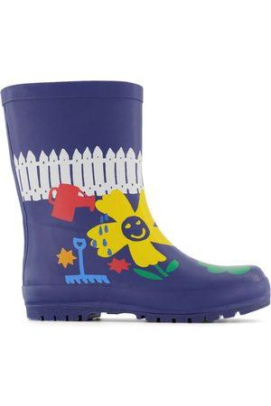 Stella McCartney Rain Boots - Kids - Navy Gardening Rain Boots - 25 (UK 8) - Navy - Wellingtons